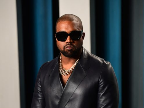 Kanye West has compared the response to his support of Donald Trump to racial profiling (Ian West/PA)