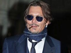 Actor Johnny Depp (Yui Mok/PA)
