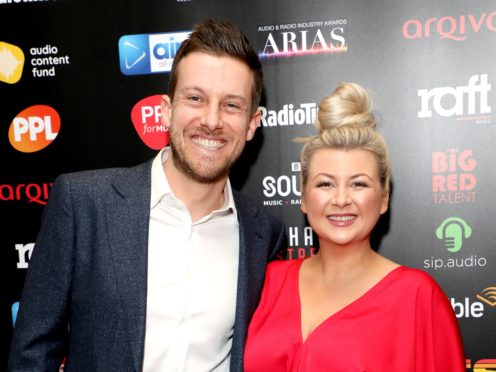 Chris and Rosie Ramsey (Lia Toby/PA)