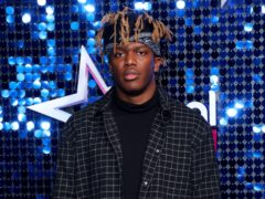 KSI gave out a trophy at the Global Awards (Lia Toby/PA)