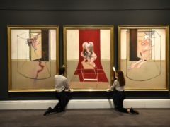 Triptych Inspired By The Oresteia Of Aeschylus, by Francis Bacon (Dominic Lipinski/PA)