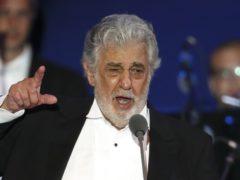 Opera singer Placido Domingo revealed he has coronavirus (Laszlo Balogh/AP)