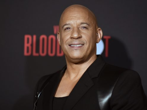 Vin Diesel has backed his Bloodshot co-star Sam Heughan's chances of being the next James Bond (Richard Shotwell/Invision/AP)
