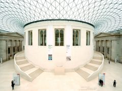 The British Museum has seen a surge in online visitors (John Walton/PA)