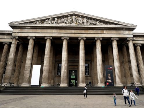 The British Museum recently reported a surge in online visitors after closing its doors (John Walton/PA)