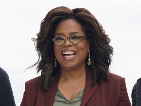 Oprah Winfrey has quarantined her partner in the guest house (AP/Tony Avelar, File)