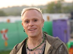 Keith Flint has been remembered by The Prodigy on anniversary of his death (Anthony Devlin/PA)