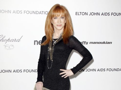 Kathy Griffin described her mother as her 'best friend' (PA)