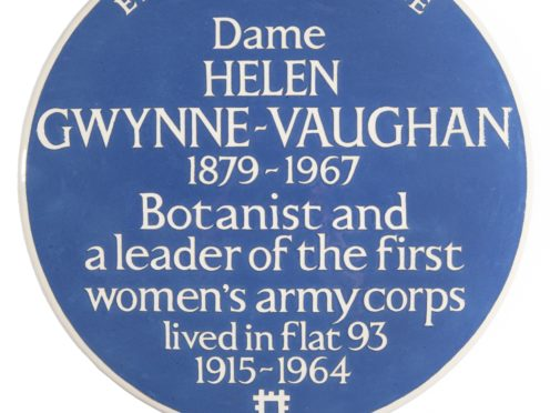 English Heritage has announced six plaques to honour women this year (English Heritage/PA)