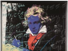 Beethoven by Andy Warhol (Sotheby's/PA)