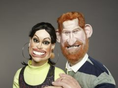 The Duke and Duchess of Sussex on Spitting Image by Mark Harrison (Avalon/Mark Harrison/PA)