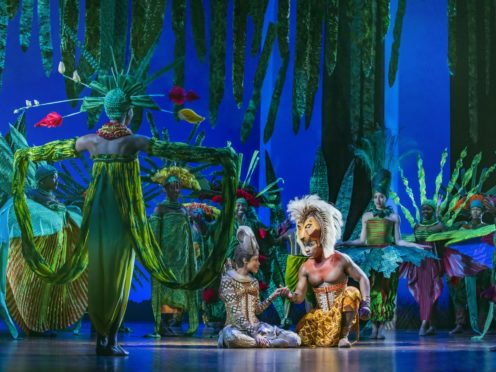 The company worked on the set for Lion King (Bay Productions/PA)
