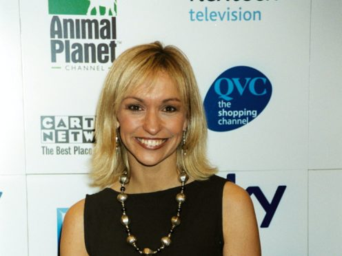 Michaela Strachan is in lockdown in South Africa (William Conran/PA)