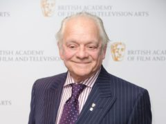Sir David Jason has announced he will release a third autobiography, exploring his more than 50-year career in showbusiness (Dominic Lipinski/PA)