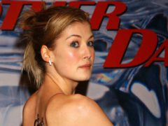 Rosamund Pike starred in Die Another Day (Yui Mok/PA)