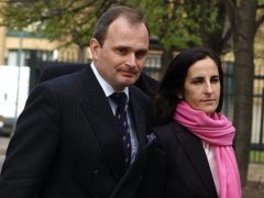 Major Charles Ingram and his wife Diana arrive at Southwark Crown Court (Kirsty Wigglesworth/PA)