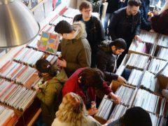 Crowds on Record Store Day (John Stillwell/PA)