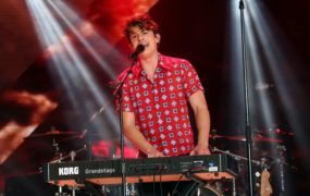 Charlie Puth is working with some big names (Isabel Infantes/PA)