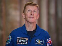 Tim Peake to compare self-isolation to life in space in film for The One Show (Joe Giddens/PA)