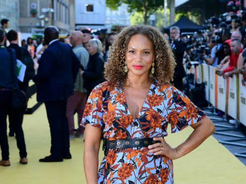 Angela Griffin (Ian West/PA)