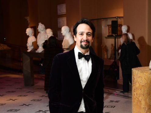 Lin-Manuel Miranda (Ian West/PA)
