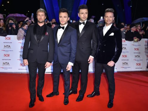 Westlife have cancelled their planned tour (Matt Crossick/PA)