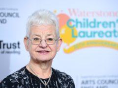 Author Jacqueline Wilson (Ian West/PA)