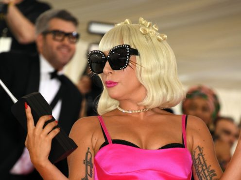 Lady Gaga has unveiled the track list to her latest album, complete with guest spots from Ariana Grande and Sir Elton John (Jennifer Graylock/PA)