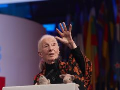 Dr Jane Goodall (One Young World/PA)