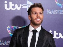 Joel Dommett is fronting a new TV show with his wife from their home (PA)