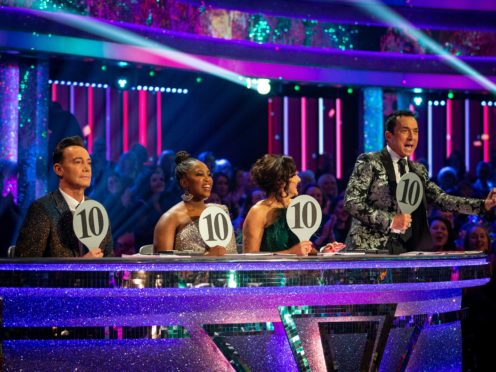 Strictly Come Dancing (Guy Levy/PA)