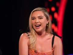 Florence Pugh is in a relationship with Zach Braff (David Parry/PA)