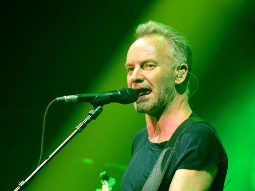 Singer Sting is taking part in the auction (Ian West/PA)