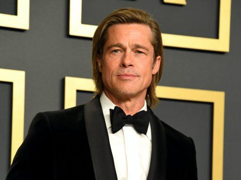 Brad Pitt turned weatherman as he made a hilarious cameo on John Krasinski's internet show (Jennifer Graylock/PA)