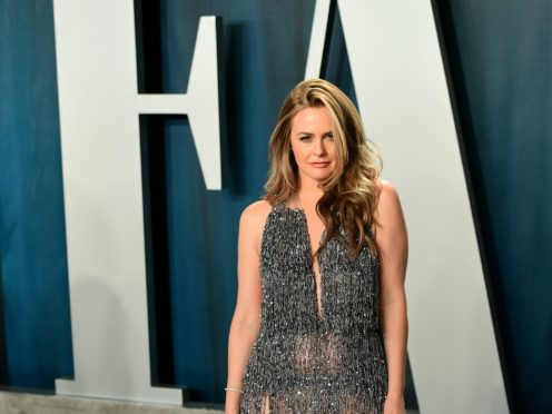 Alicia Silverstone has shown her support for Peta's campaign promoting veganism (Ian West/PA)