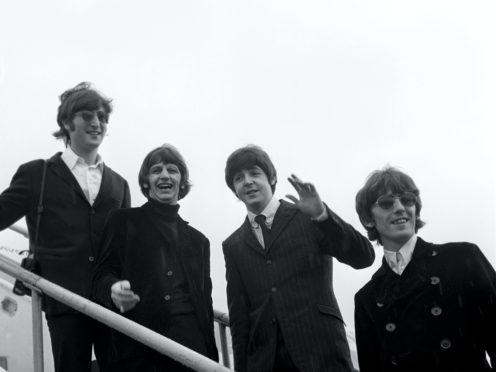 John Lennon, Ringo Starr, Paul McCartney and George Harrison pictured in 1966 (PA)