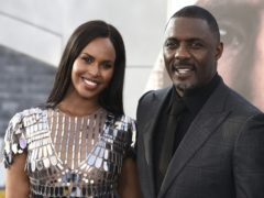 Idris Elba with his wife Sabrina Dhowre Elba (Jordan Strauss/Invision/AP)