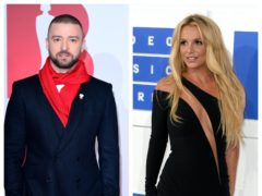 Britney Spears and Justin Timberlake (PA)