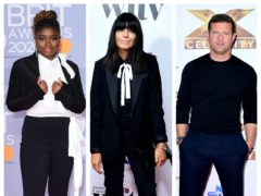 Clara Amfo, Claudia Winkleman and Dermot O'Leary (PA)