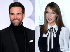 Alex Jones left her The One Show co-host Gethin Jones red-faced after revealing one of his dating secrets (Ian West/PA)