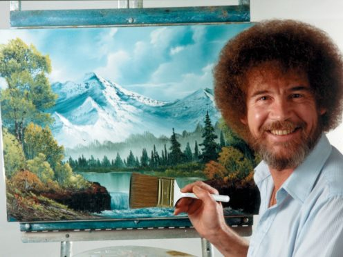 Bob Ross's painting show is to be broadcast by the BBC (Bob Ross, Inc/PA)