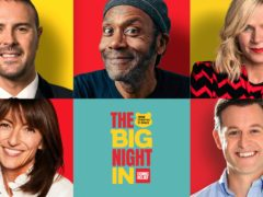 The hosts of the Big Night In (The Big Night In/BBC Children In Need/Comic Relief/PA)