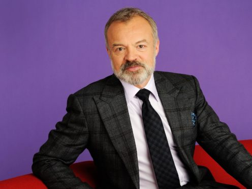 Graham Norton hosted a stripped-back version of his chat show amid the coroanvirus pandemic (BBC/PA)