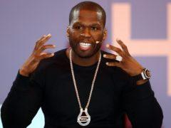 50 Cent (David Jones/PA)