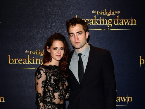 Kristen Stewart and Robert Pattinson (Ian West/PA)