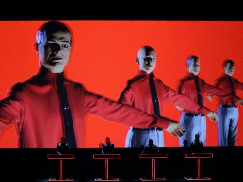 Kraftwerk perform live (Yui Mok/PA)