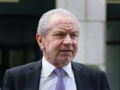 Lord Sugar (Philip Toscano/PA)