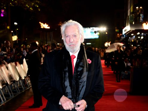 Donald Sutherland (Ian West/PA)