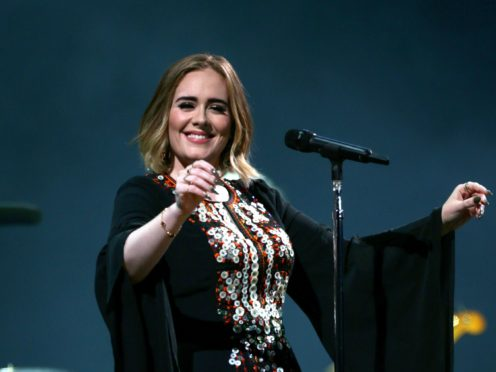 Adele showed off her dramatic weight loss as she celebrated her 32nd birthday (Yui Mok/PA)