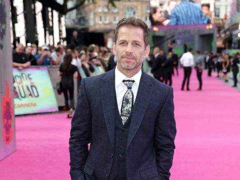 Director Zack Snyder has revealed his 'Snyder cut' of 2017 superhero movie Justice League will be released following a fan campaign (Daniel Leal-Olivas/PA Wire)